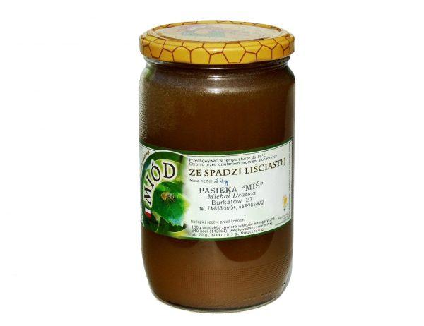 Naturalny miód ze spadzi liściastej